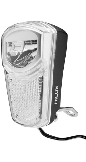 XLC LED Dynamo rowerowe 35 Lux czarny/srebrny